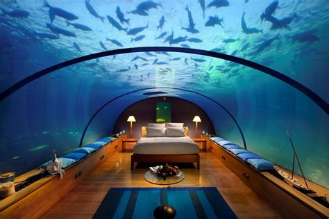 underwater bedroom in maldives underwater hotel 1funny com