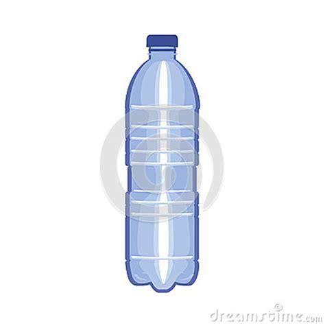 Mr Acrysion Water Based N11 Flat White Mr Hobby bottle of water flat vector design on white stock vector