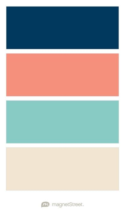 Coral And Turquoise Bathroom Navy Coral Custom Teal And Champagne Wedding Color