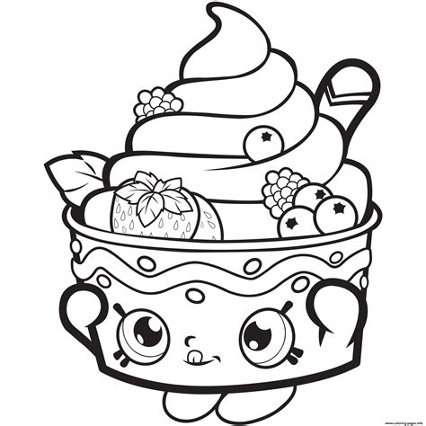 Shopkins Coloring Pages You Can Print | frozen yo chi printable shopkins season 1 season one