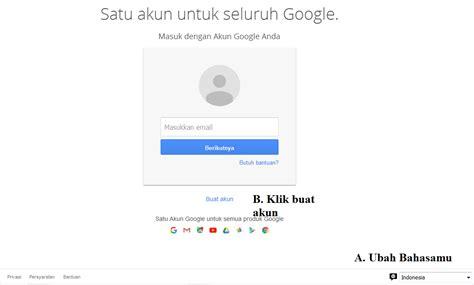 membuat akun google dalam bahasa indonesia situs pendidikan dan ilmu pengetahuan membuat akun google