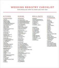 wedding gift registry list wedding gift registry list printable mini bridal