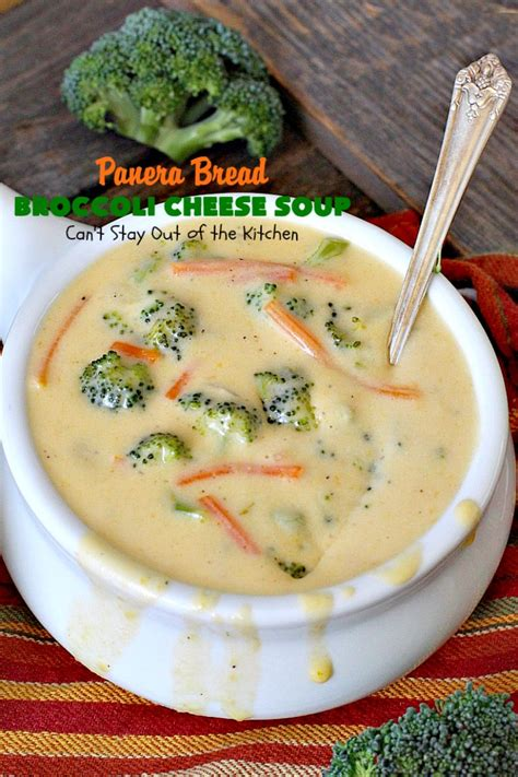 Soups On Broccoli Cheese Soup by Panera Bread Broccoli Cheese Soup Can T Stay Out Of The