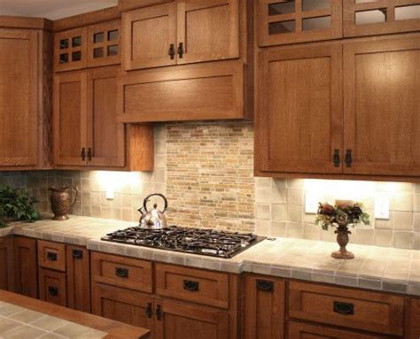 Mission Oak Kitchen Cabinets Best 25 Mission Style Kitchens Ideas On Craftsman Style Kitchens Mission Style