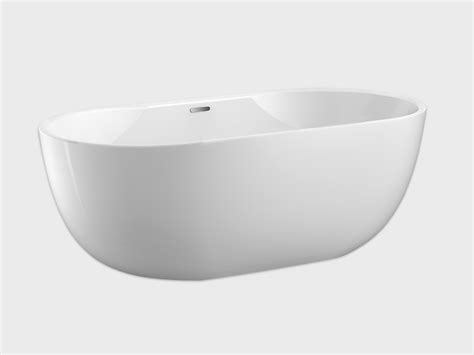aiden 65 quot freestanding soaking tub carver tubs