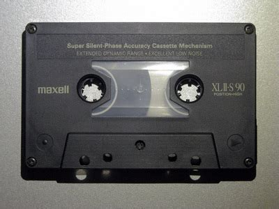 maxell cassette maxell xl iis 1988 1989 inside compact cassette noa