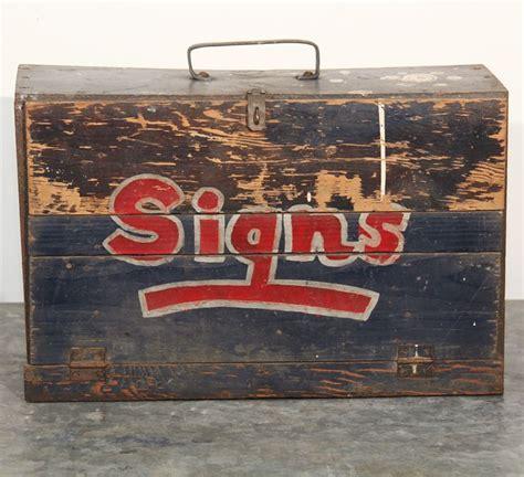 sign painters kit images  pinterest