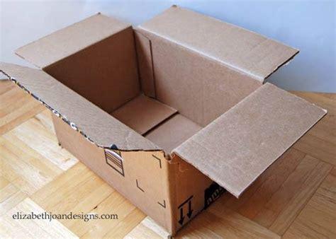 decoracion de cajas de carton reciclado cesta para ordenar hecha con caja de cart 243 n reciclado