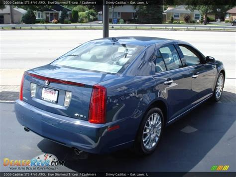2009 Cadillac Sts by 2009 Cadillac Sts 4 V6 Awd Blue Tricoat