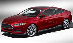 rendered 2013 ford fusion coupe motrolix