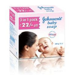 Promo Johnsons Baby Soap buy johnson s baby soap 100g pack of 3 at rs 63