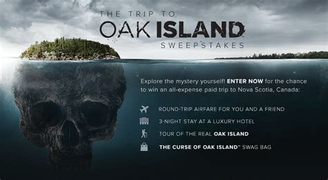 Investigation Discovery Channel Sweepstakes - history channel the curse of oak island sweepstakes win a trip to oak island