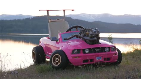 real barbie cars a movie carrying a real engine on a quot barbie car quot playing