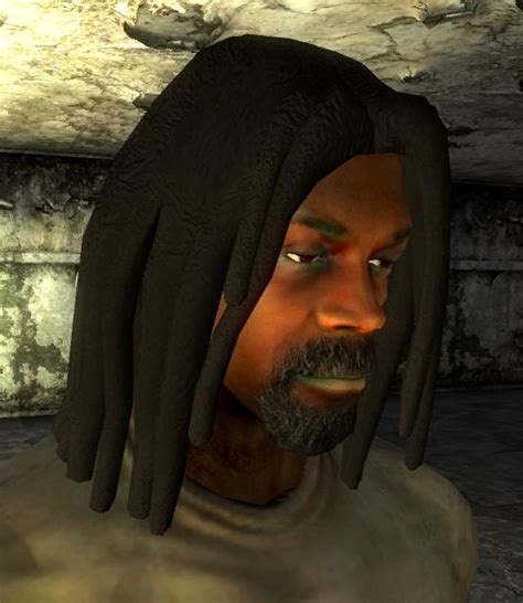 fallout haircut dreadlocks hairstyle at fallout new vegas mods and community