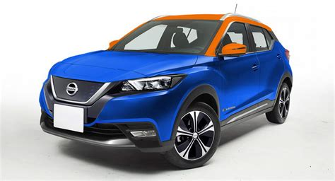 Nissan Leaf Suv 2020 by Nissan S Electric Suv Rendered With Leaf And Kicks Design
