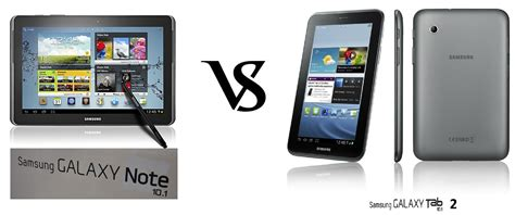 Samsung Tab Note 2 samsung galaxy tab 2 10 1 vs galaxy note 10 1 tablets comparison android advices