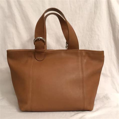 Coach Miranda Vintage Leather Satchel by Coach Waverly Vintage Leather Beige Satchel On Sale