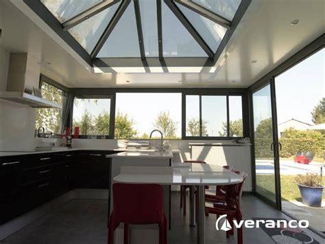 cuisine dans veranda photo v 233 randa cuisine une v 233 randa pour agrandir sa cuisine