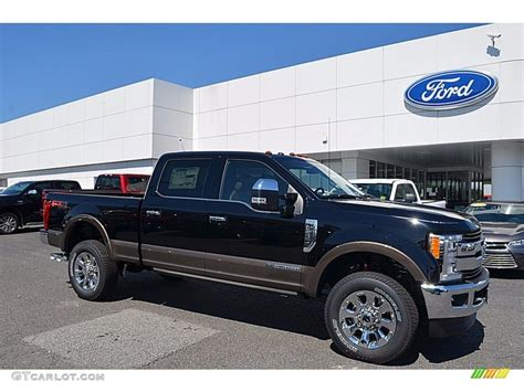 2017 Ford F250 King Ranch by 2017 Shadow Black Ford F250 Duty King Ranch Crew Cab