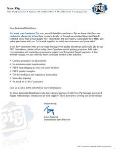 Business Letter For Distributorship Letters Norman Benford
