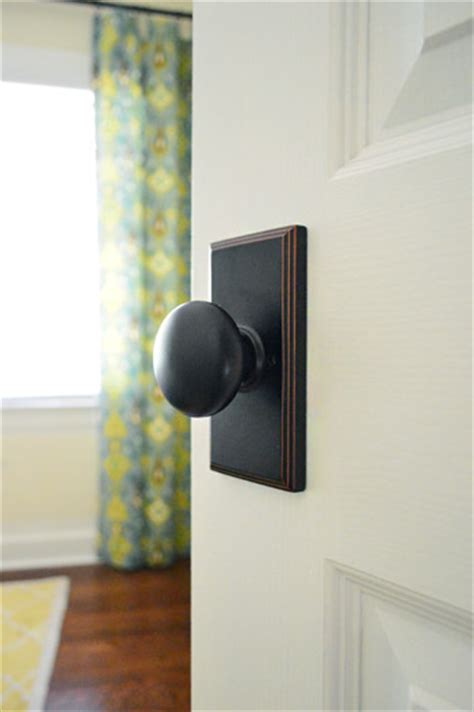 interior door knobs and hinges updating interior doors by installing new doorknobs