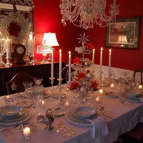 elegant christmas table christmas pinterest 78 images about christmas table decorations on pinterest