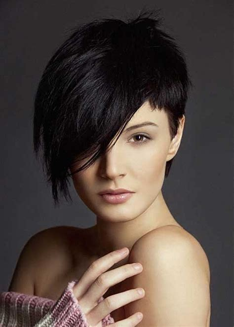 short haircuts cut toward the face 10 short pixie cuts for round faces pixie cut 2015