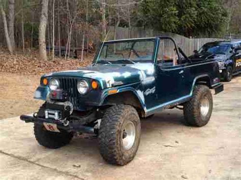 commando green jeep lifted sell used jeepster commando 4wd chevy 350 lifted in