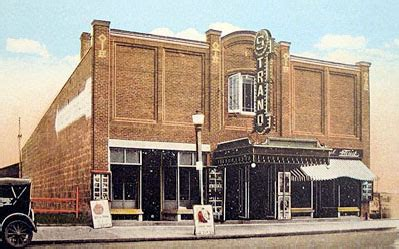history   strand strand theatre