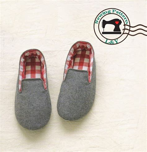 pattern for house slippers woman indoor shoes house slippers no 01 pdf sewing by