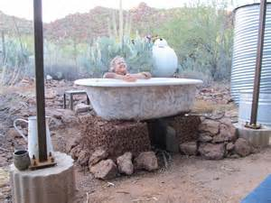 Concrete Bathtub Starting The Cob Tub Raw Culture Collective