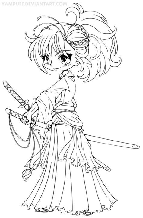 chibi fox coloring page anime girl chibi fox coloring pages anime coloring pages