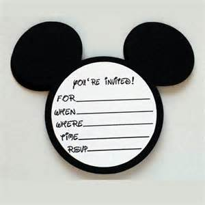 20 mickey mouse birthday mickey mouse invitations with envelopes mickey mouse ears