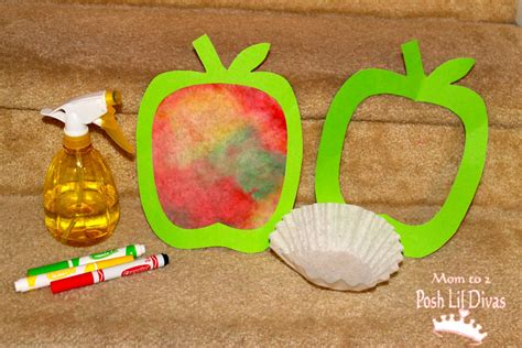 apple craft for coffee filter apple go au pair new jersey