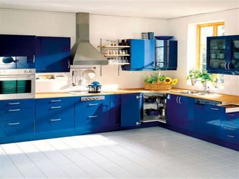 Blue Kitchen Decorating Ideas by Modern Blue Kitchen Design Ideas Interior Design