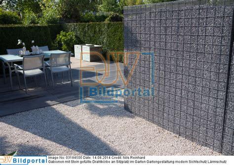 Details Zu 0003184500 Gabionen Mit Stein Gef 252 Llte Gartengestaltung Mit Steinen Gartengestaltung Ideen Modern