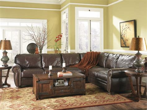 distressed leather living room furniture distressed leather sectional homesfeed