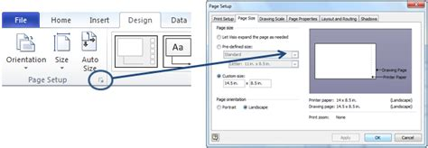 visio page size bluespring processview how to increase the page size in