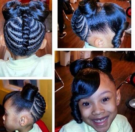 hair style pictures real people black kids ponytail hairstyles for beautiful and handsome