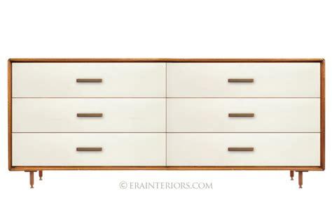 mid century modern dresser white mid century modern double dresser era interiors