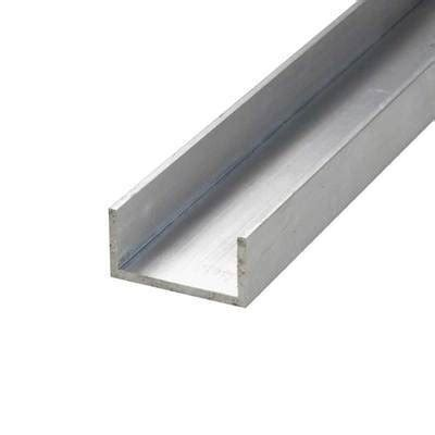 Aluminium C Section Channel Aluminum Edconsteel Com