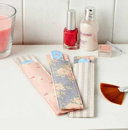 sewing pattern magazine holder these nail file holders are super simple to stitch sew
