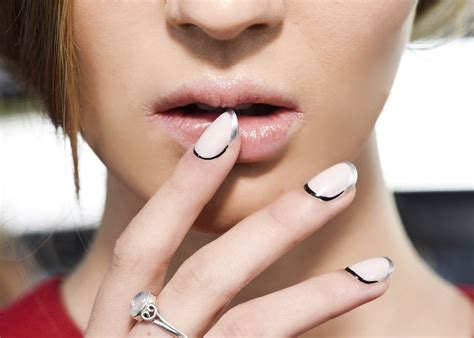 latest trend in french manicures for older women unghie estate 2016 le migliori french manicure foto a