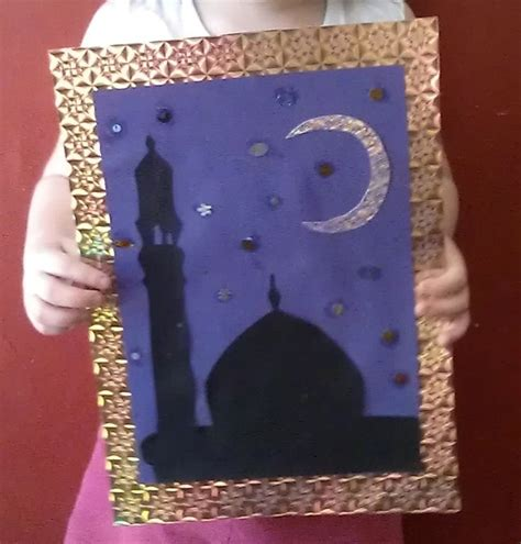 islamic arts and crafts for 99 creative mosque projects we silhouette frames and