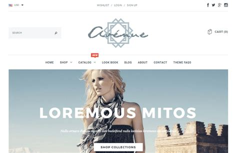 shopify themes with sidebar 20 best shopify themes for 2017 elegant themes blog