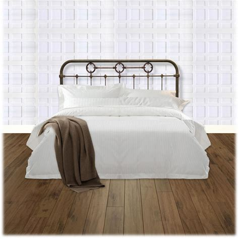 King Size Metal Headboard Fashion Bed Madera California King Size Metal Headboard Panel With Brass Plated Designs