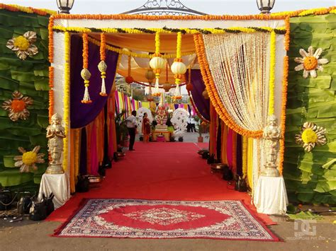 entrance decoration wedding decoration outdoor entrance decoration