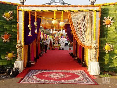 Wedding Entrance Decoration Ideas   Elitflat