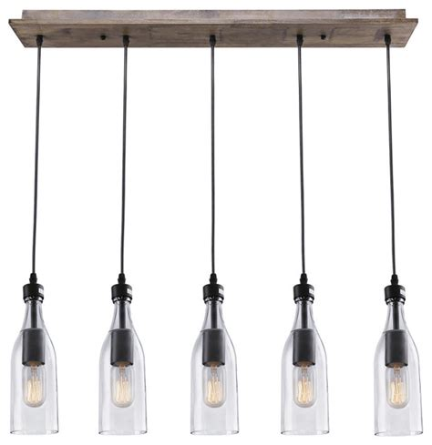 glass pendant lighting for kitchen islands lnc 5 light glass mason jar hanging ceiling pendant
