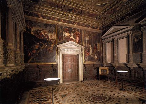 the other room venice paintings in the sala dell albergo 1564 67